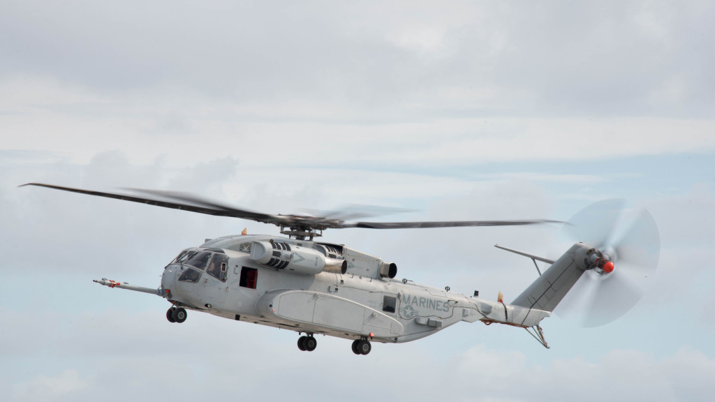 On December 18, 2015 Lieutenant Colonel Jonathan Morel became the first Marine to fly the CH-53K helicopter, during a test flight over Sikorsky Aircraft Corporation's Development Flight Center at West Palms Beach. The flight test ran for 1.5 hours and now marks the sixth flight for the aircraft