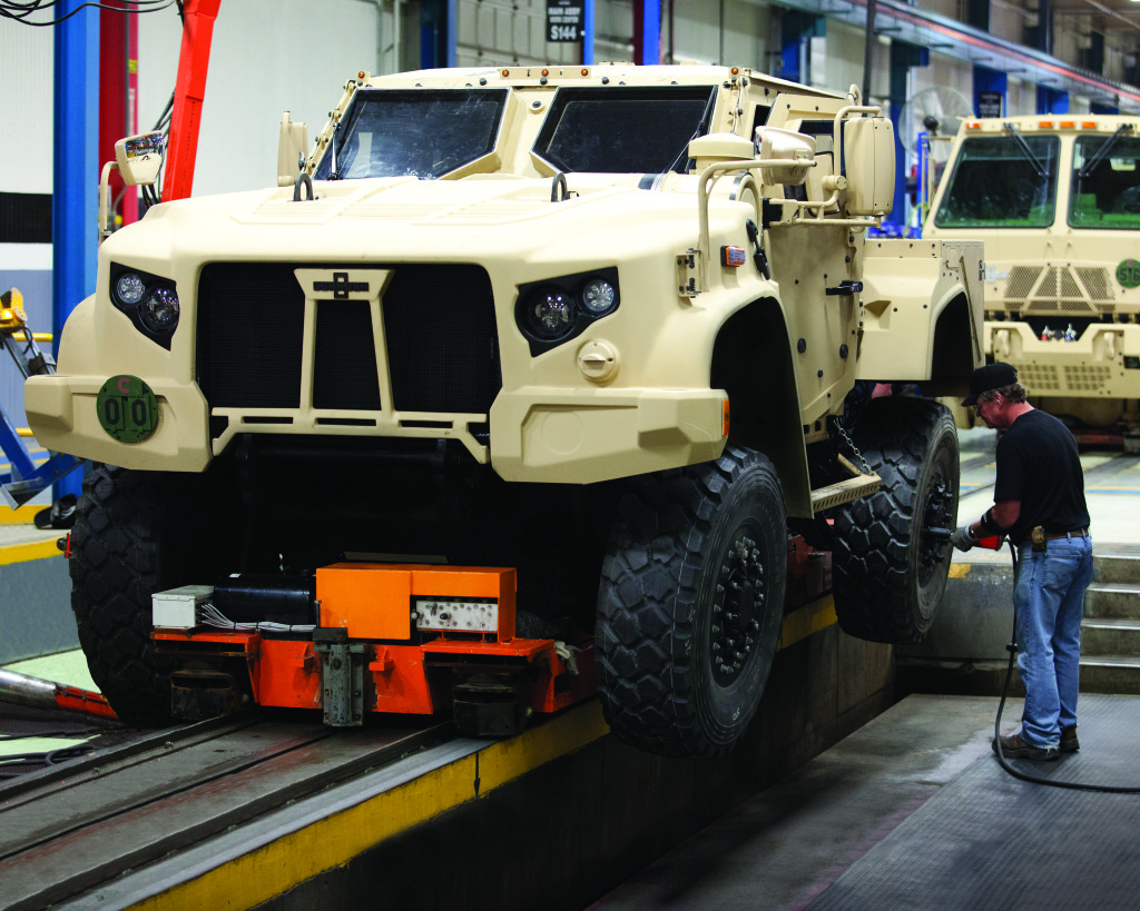 Oshkosh Corporation resumes work on Joint Light Tactical Vehicle production contract