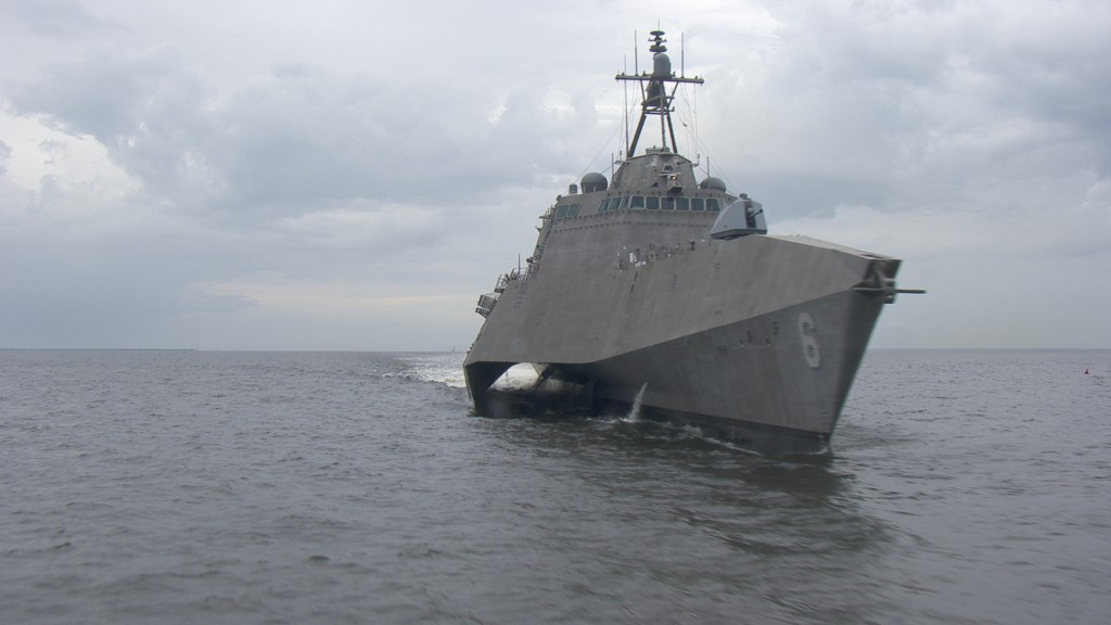 Six additional Independence-variant LCS are at various stages of construction at Austal's shipyard in Mobile, Alabama