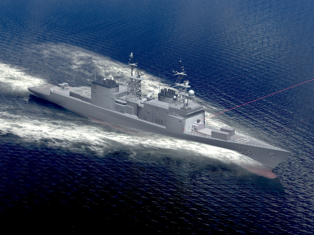 Northrop Grumman will assist the U.S. Navy in testing a 150 kW-class Laser Weapon System Demonstrator aboard the service's Self Defense Test Ship, the former USS Paul F. Foster (DD-964)