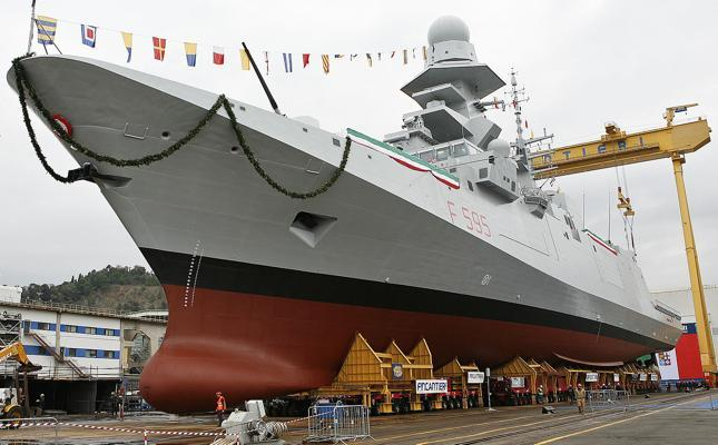 Planning assumptions for the Italian Navy are 10 FREMM-IT (4 ASW variants and 6 GP variants) at a cost of €5.8 billion