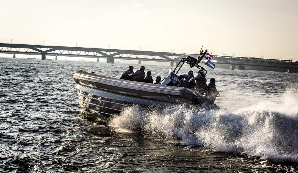 Damen is currently building a second RHIB 1050, which will feature 2 × 400 hp