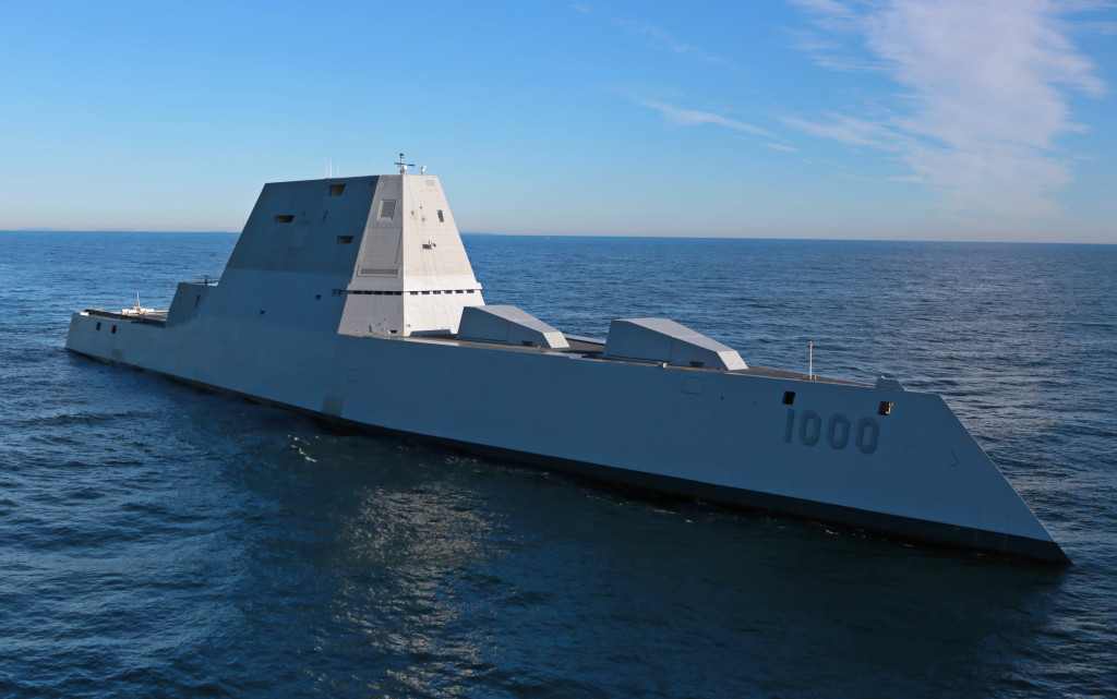 USS Zumwalt Sea Trials