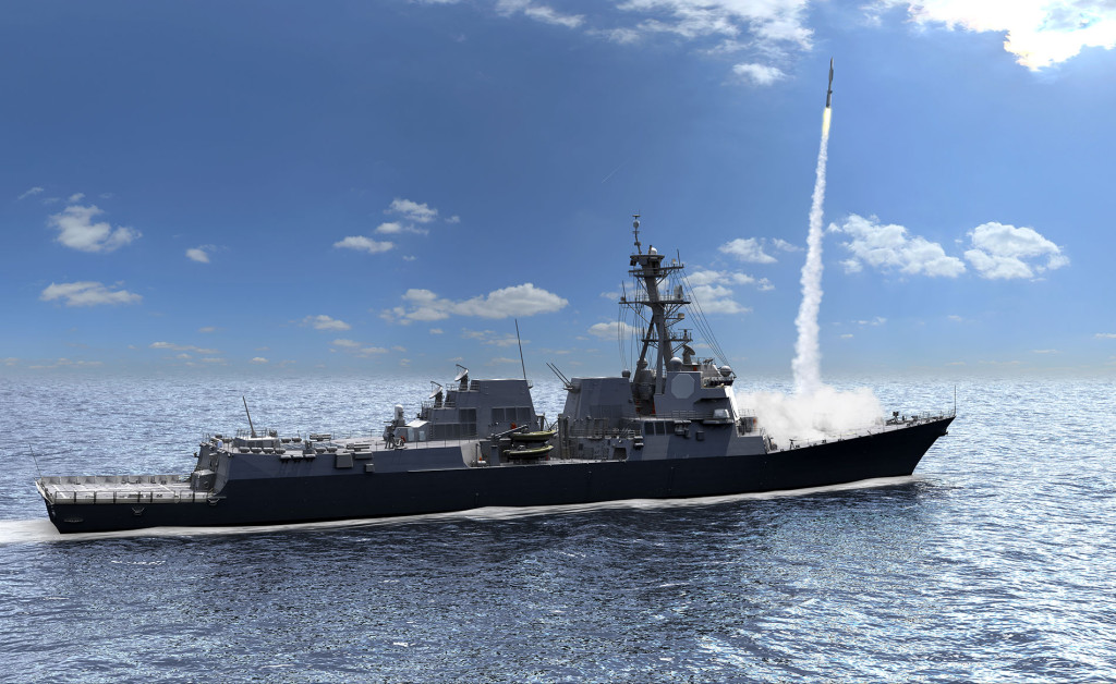 AMDR is a key enabler for the capability and performance enhancements of the new DDG-51 Flight III ship