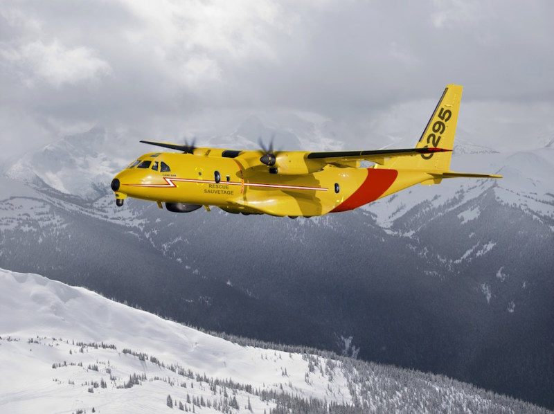 Airbus has teamed with Provincial Aerospace under the AirPro banner to jointly offer the C295W turboprop transport for Canada's long-delayed Fixed-Wing Search And Rescue competition (Airbus photo)