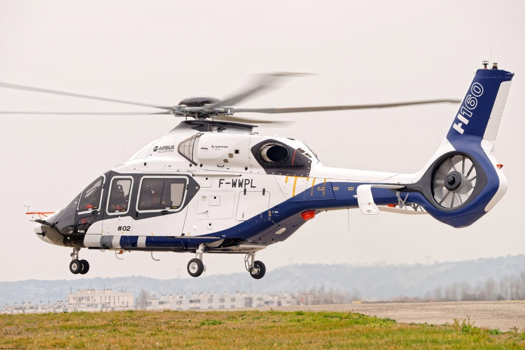 The H160's second prototype took off in Marignane