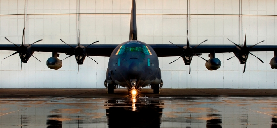The HC-130J Combat King II – this C-130J variation specializes in tactical profiles and avoiding detection and recovery operations in austere environments