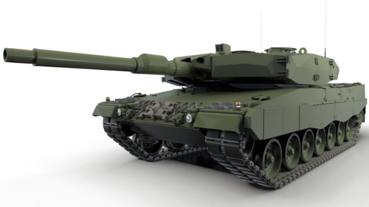 Concept image of the Leopard 2PL MBT (Leopard 2A5 variant) upgrade package for the Polish Land Forces' Leopard 2A4 MBTs (Source: ZM Bumar-Labedy)