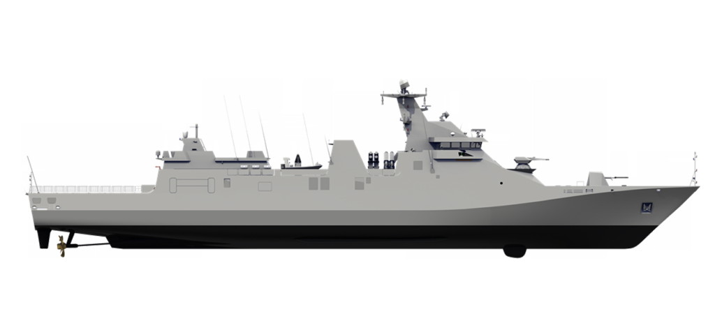 Damen frigate modularly constructed in the Netherlands and Indonesia in collaborative construction project