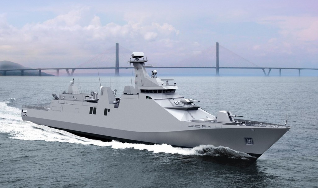 Indonesian Navy first SIGMA 10514 PKR launched at PT Pal Surabaya Shipyard