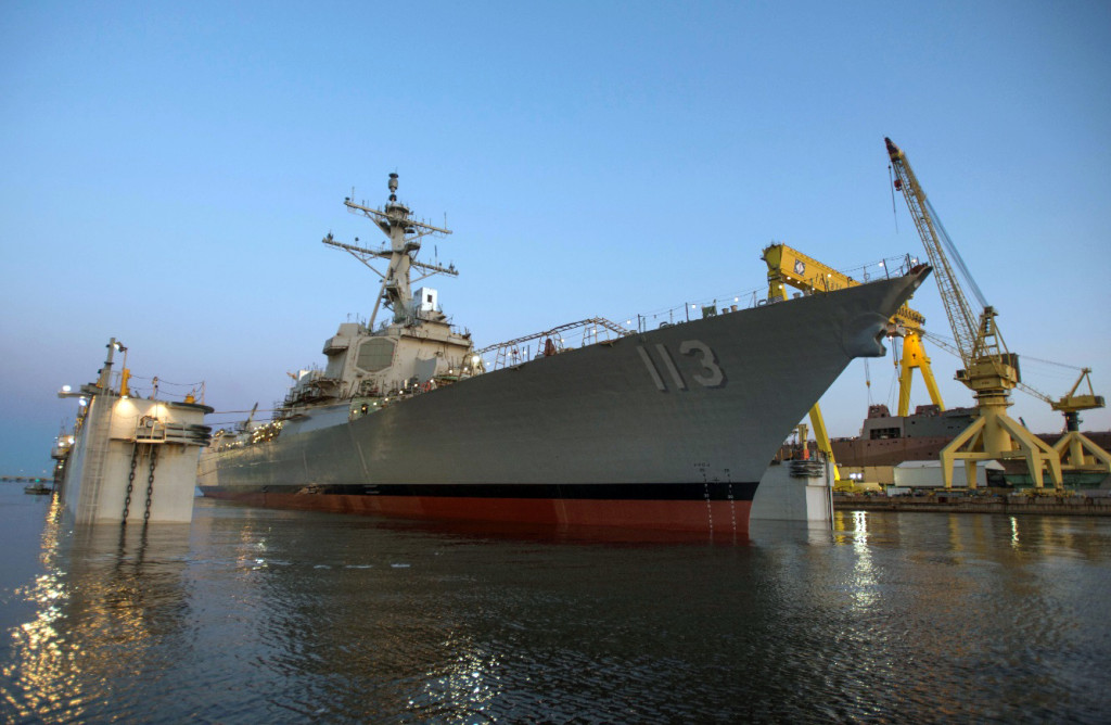 The latest evolution of the Aegis Combat System – Baseline 9.C1 – was certified for the U.S. Destroyer fleet, which will one day include the USS John Finn (DDG-113), now under construction