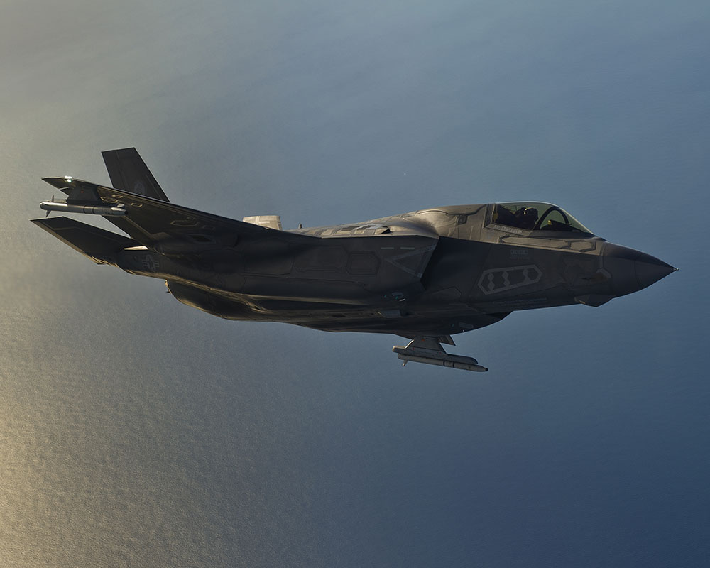 MBDA delivers ASRAAM missiles for F-35 integration