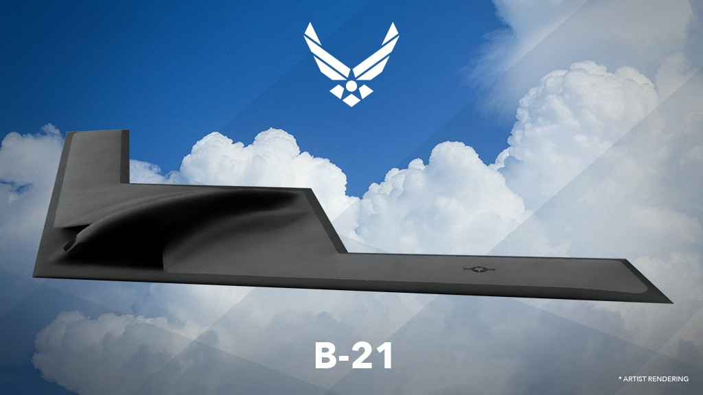 The first rendering of the B-21 (U.S. Air Force graphic)