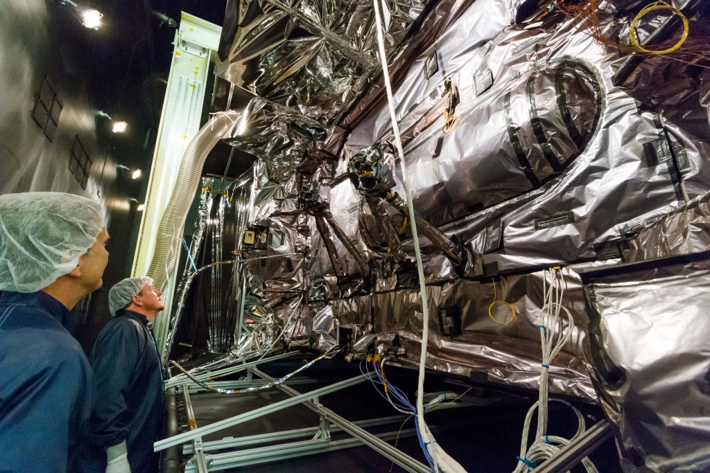 The first GPS III satellite recently completed system-level Thermal Vacuum testing, validating Lockheed Martin's design for the next generation of more powerful GPS satellites