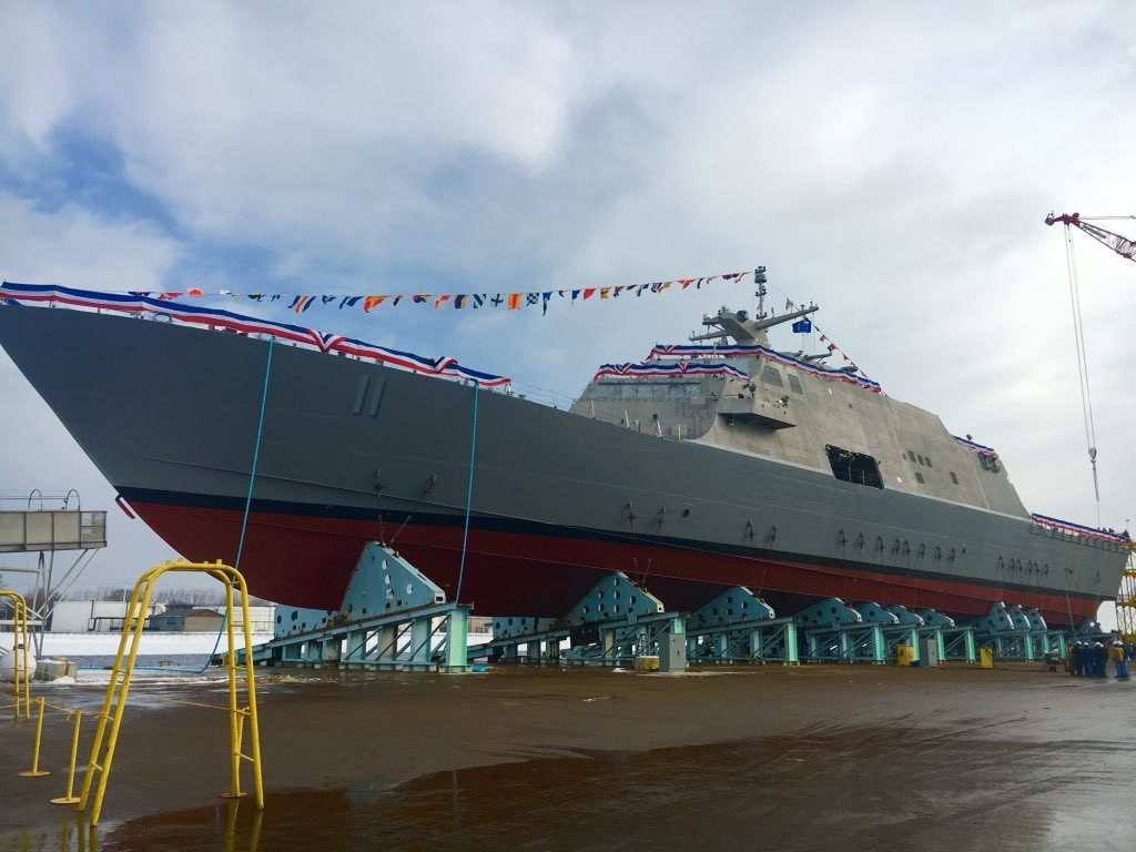 U.S. Navy to receive nation's 11th littoral combat ship