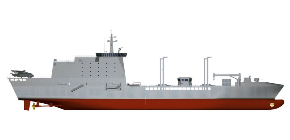The Italian Navy's new vessel acquisition programme includes a LSS with humanitarian assistance and disaster relief/search-and-rescue capacity, in addition to fleet supply