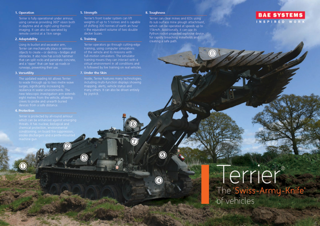 Terrier Combat Engineer Vehicle