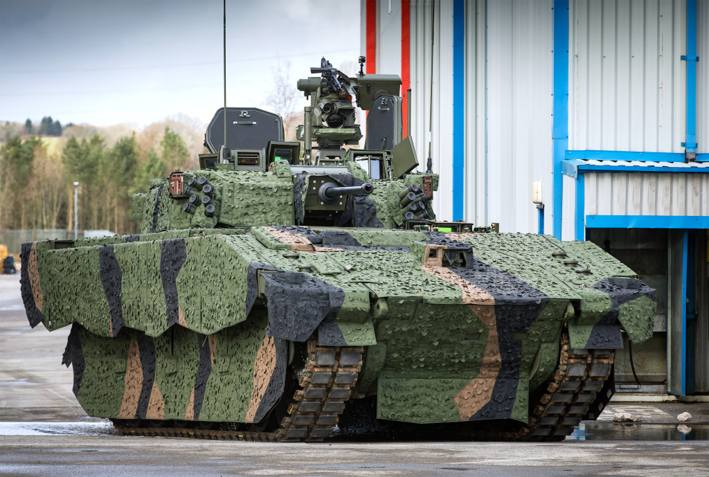 AJAX incorporates cutting-edge and proven technology to provide an unparalleled balance of protection, weight and agility for a vehicle of its class