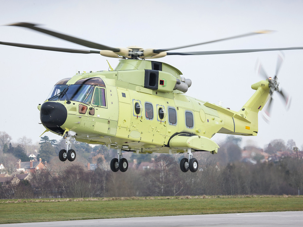 A major milestone for the Norwegian All Weather SAR Helicopter programme that features an innovative search and rescue configuration
