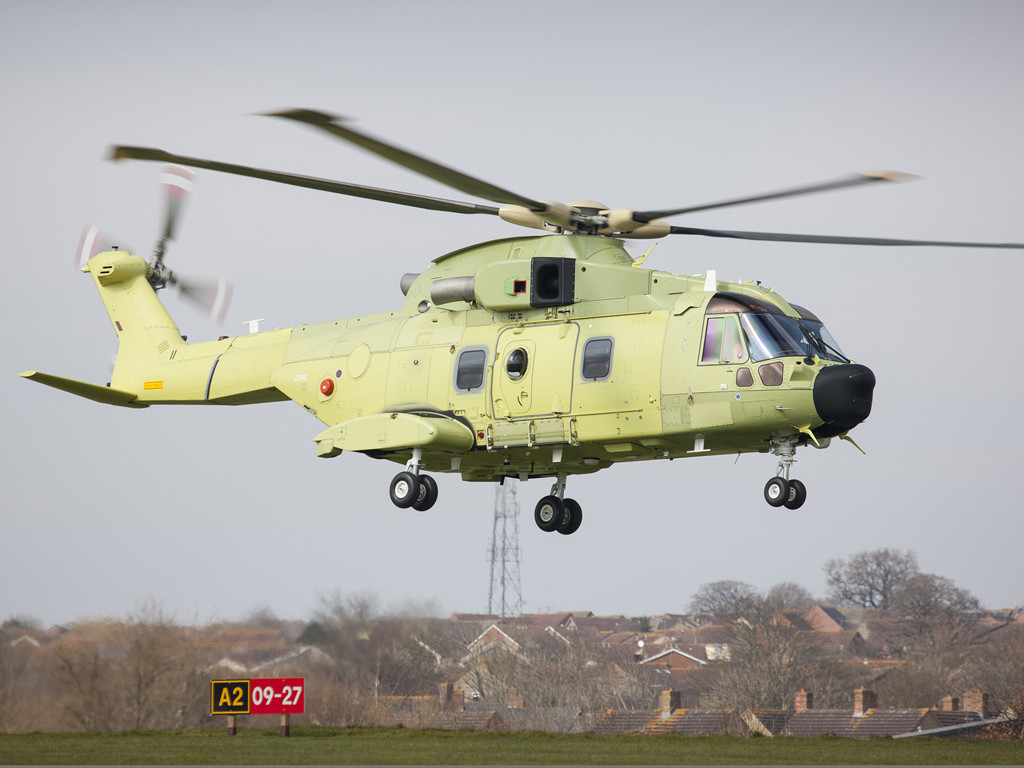 Over 220 AW101s sold to customers worldwide to date for various roles