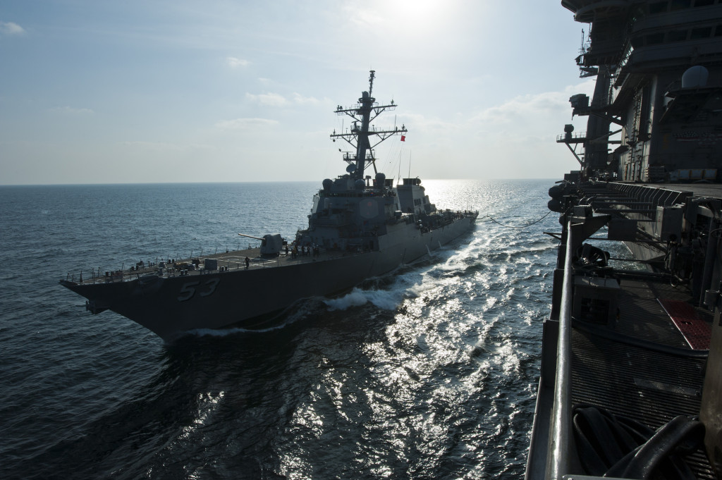 The USS John Paul Jones (DDG-53), configured with AEGIS Baseline 9.C1, executed the series of four missions with five SM-6 missiles for Follow-on Operational Test and Evaluation, part of the final testing leading to a likely declaration of Full Operational Capability in 2017