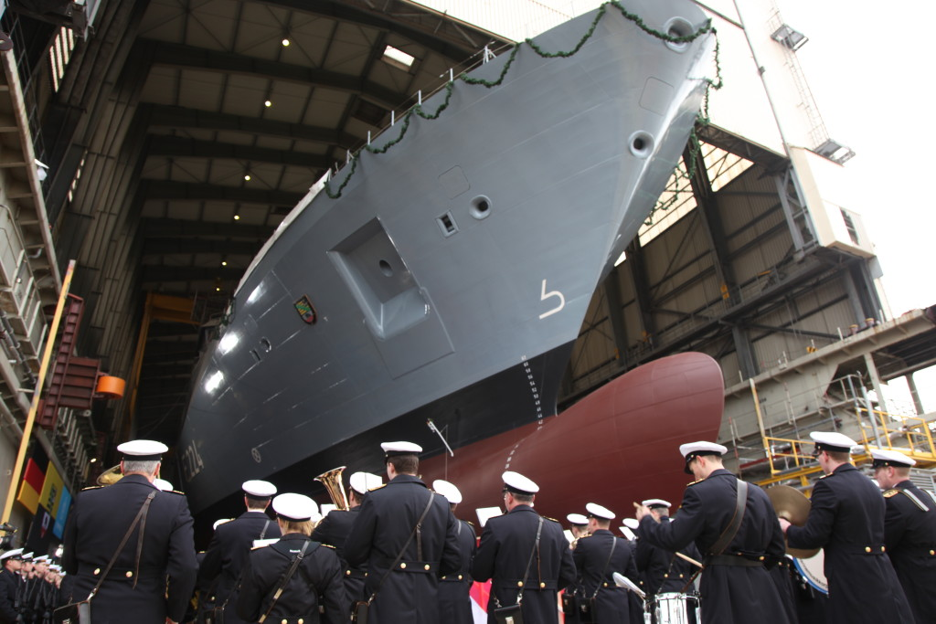 The third of a total of four 125 class frigates for the German Navy was christened «Sachsen-Anhalt» on March 4 in Hamburg