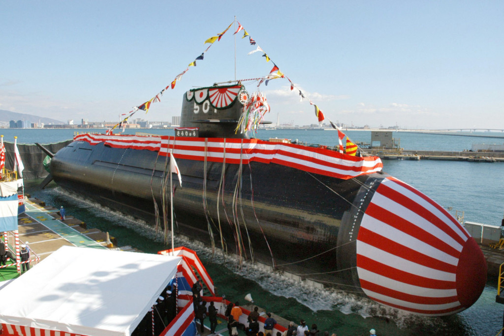 The cost of the Soryu-class submarine was estimated at $540 million