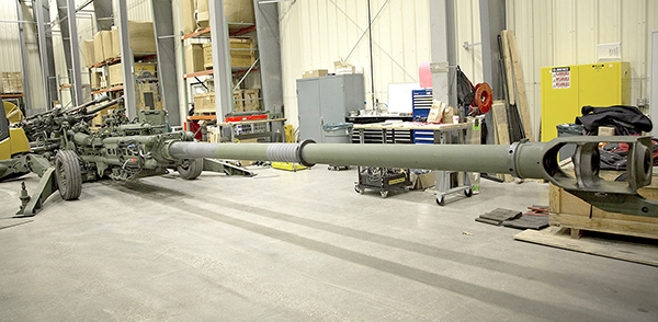 The newly modified M777A2 howitzer has the potential to double the system's current artillery range (Photo by Erin Usawicz)