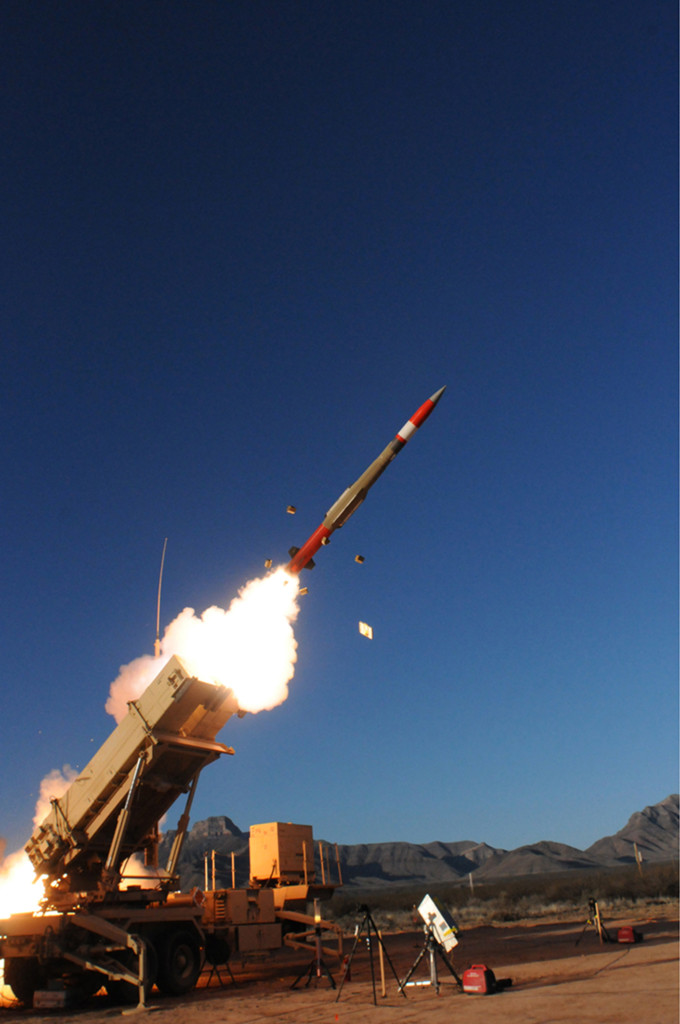 PAC-3 MSE Intercepts Missile Target in Flight Test