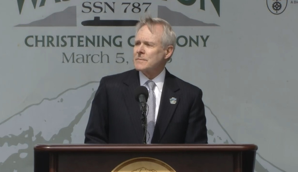 Secretary Mabus highlighted the award of 10 Virginia-class submarines in the Block IV contract