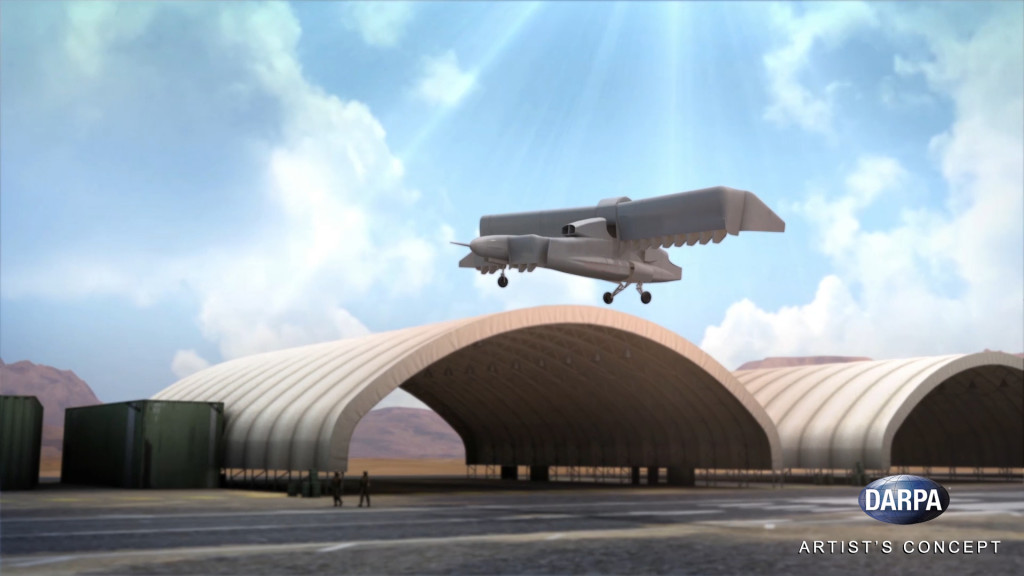 In an important step toward that goal, DARPA has awarded the Phase 2 contract for VTOL X-Plane to Aurora Flight Sciences
