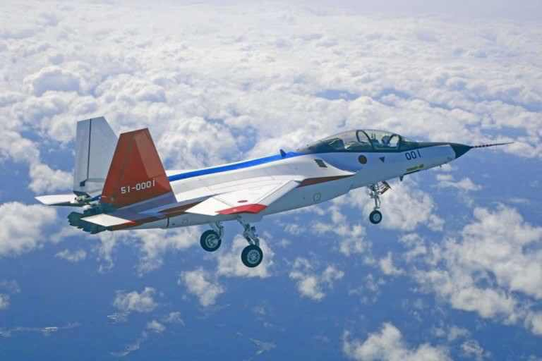 By flying the Mitsubishi X-2, Japan has become the fourth country to fly a manned stealth fighter (Japan Air Self-Defense Force, JASDF photo)