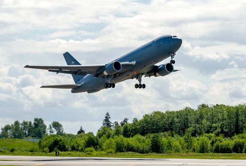 The U.S. Air Force is moving its formal production decision on the Boeing KC-46 tanker program – known as Milestone C – from June 2016 to August 2016 to allow additional time to implement the solution to a refueling boom loads issue identified during flight testing earlier this year
