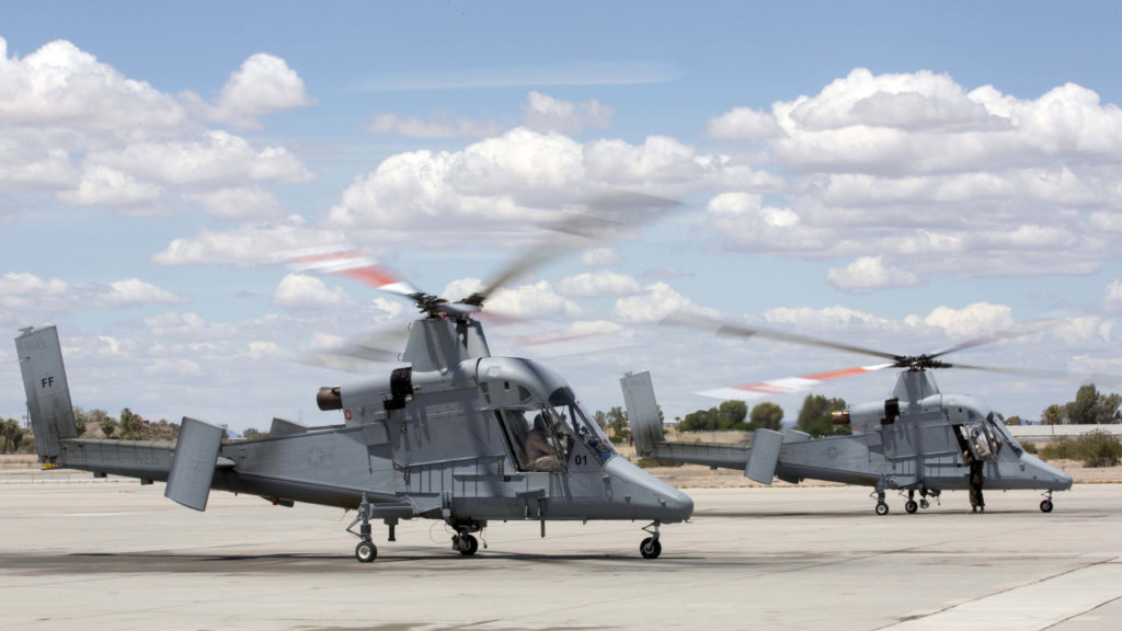 The K-MAX will be added to MCAS Yuma's already vast collection of military air assets, and will utilize the station's ranges to strengthen training, testing and operations across the Marine Corps