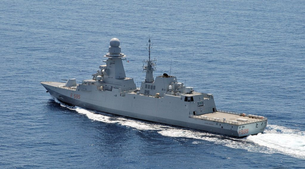 FREMM-IT will replace the Maestrale and Lupo frigates in service with the Italian Navy