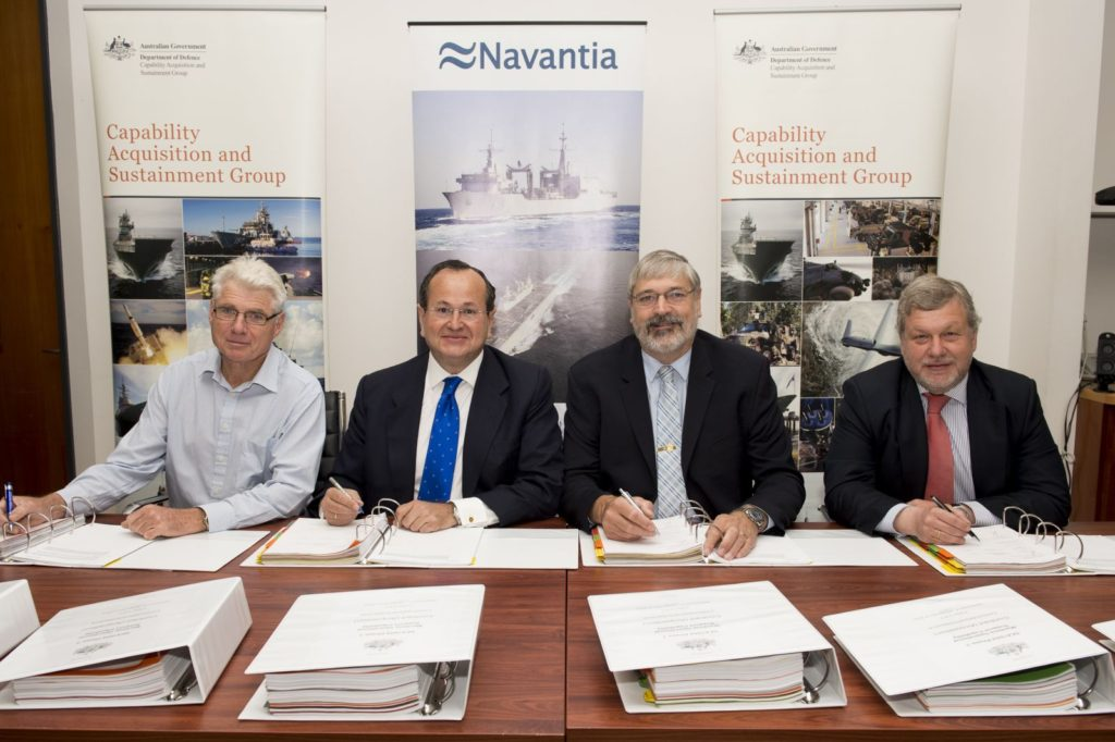 Navantia selected to supply two Auxiliary Oiler Replenishment ship to Australia