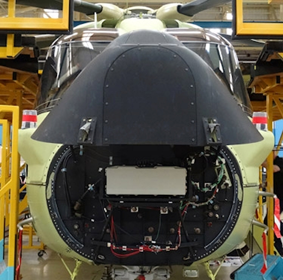 The Osprey E-Scan radar is the first lightweight airborne surveillance radar to provide a 360-degree field of view without moving parts