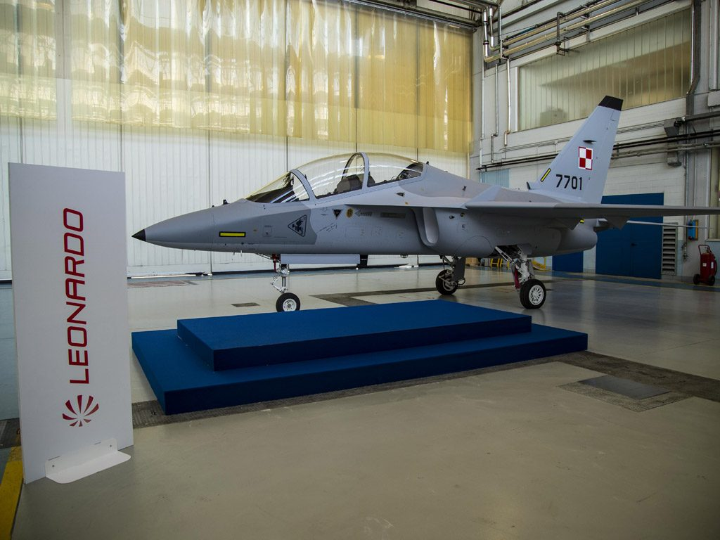 The Alenia Aermacchi M-346 is the most advanced trainer aircraft available on the market