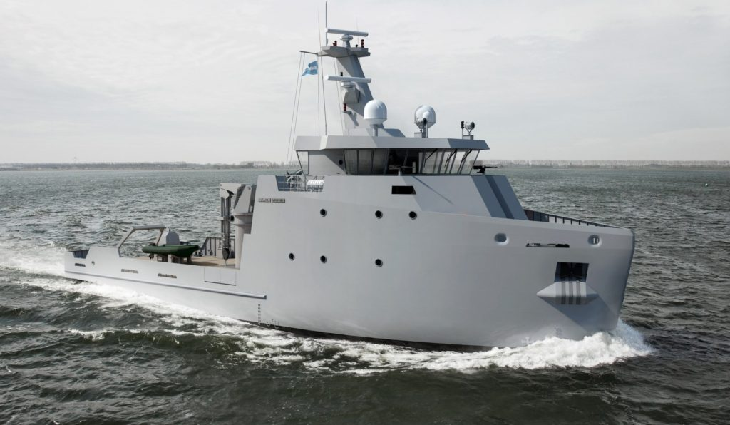 Damen Multi-Role Auxiliary Vessel 660