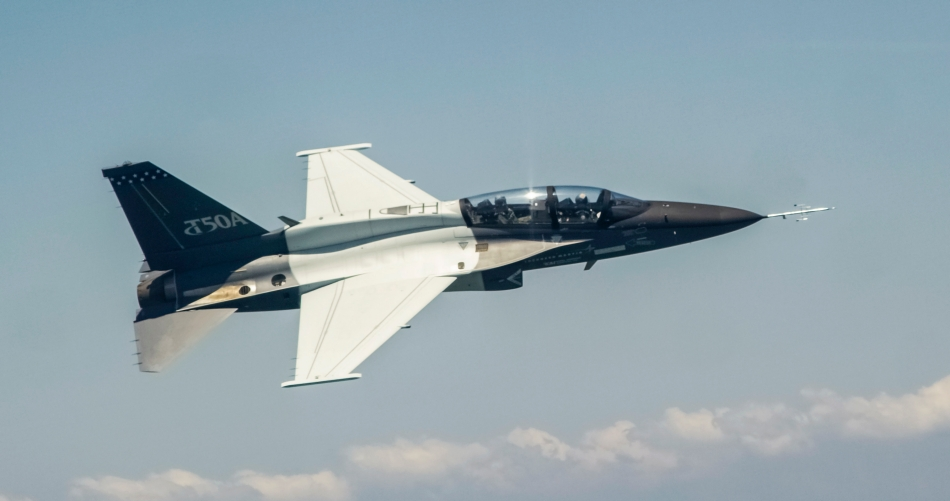 The initial flight test of the T-50A configured aircraft was completed June 2, 2016