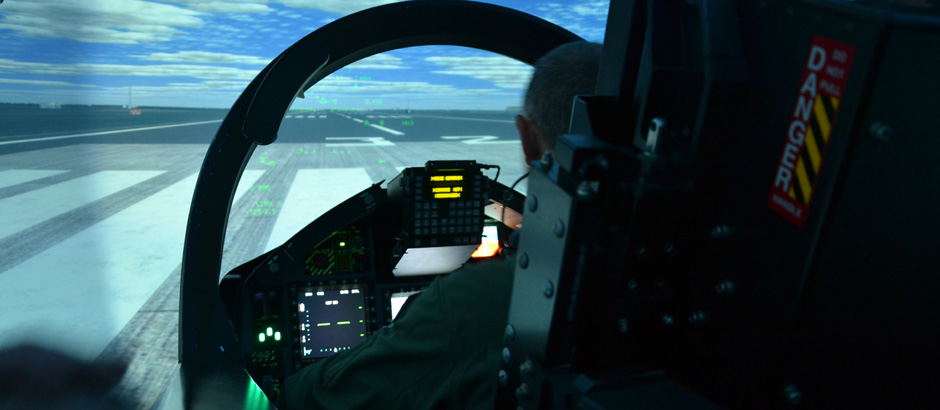The M-346 Integrated Training System includes, together with the aircraft, an exhaustive Ground Based Training System, enabling the student pilot to learn and rehearse the entire aircraft syllabus and all training objectives on the ground, before replicating them in flight
