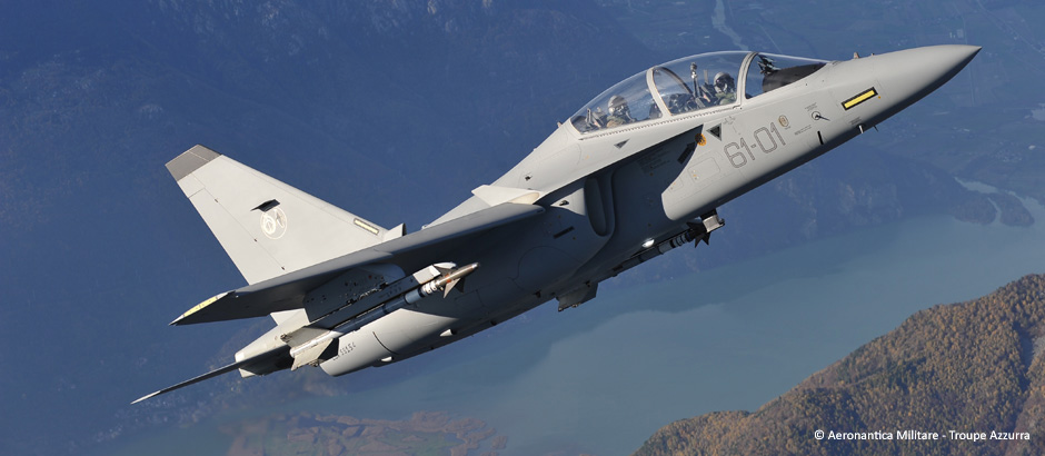 Aermacchi M-346FT – Fighter Trainer – will be the name of the new Leonardo-Finmeccanica's aircraft