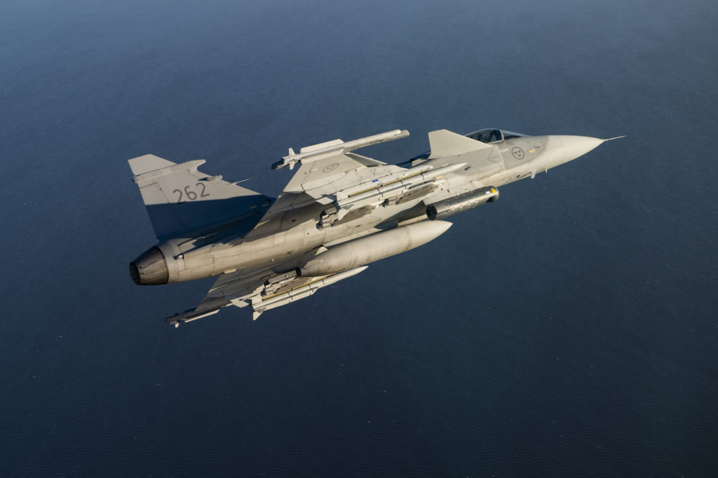 MBDA's Meteor enters service with the Swedish Air Force