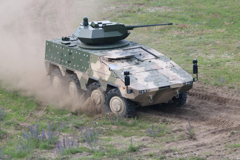 Less than 8 months since selecting the Boxer in December 2015, Lithuania has signed a €400 million contract to buy 88 of the vehicles, becoming the third NATO member to buy the vehicle, which will be delivered from 2017 (ARTEC photo)