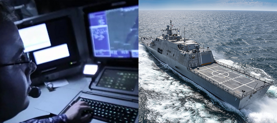 COMBATSS-21 provides commonality across the surface combatant fleet, delivering an affordable path to rapid capability insertion and life-cycle costs. Photo courtesy of Lockheed Martin
