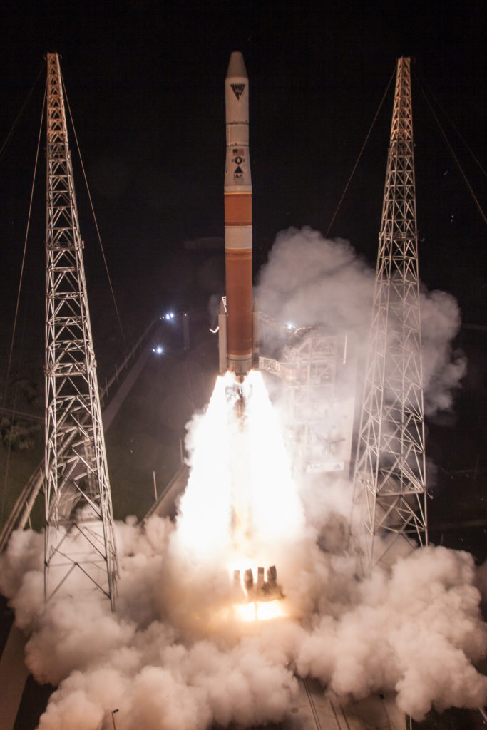 ULA's Delta IV rocket lifts off with the AFSPC-6 mission for the United States Air Force