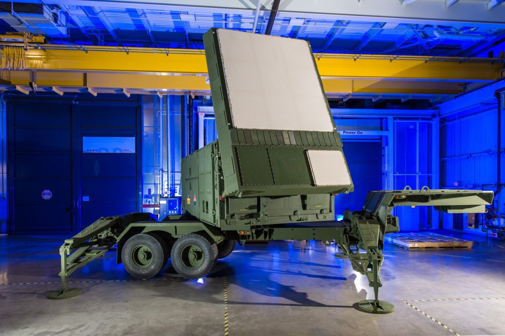 Raytheon's re-engineered Patriot radar prototype uses two key technologies – active electronically scanned array, which changes the way the radar searches the sky; and gallium nitride circuitry, which uses energy efficiently to amplify the radar's high-power radio frequencies