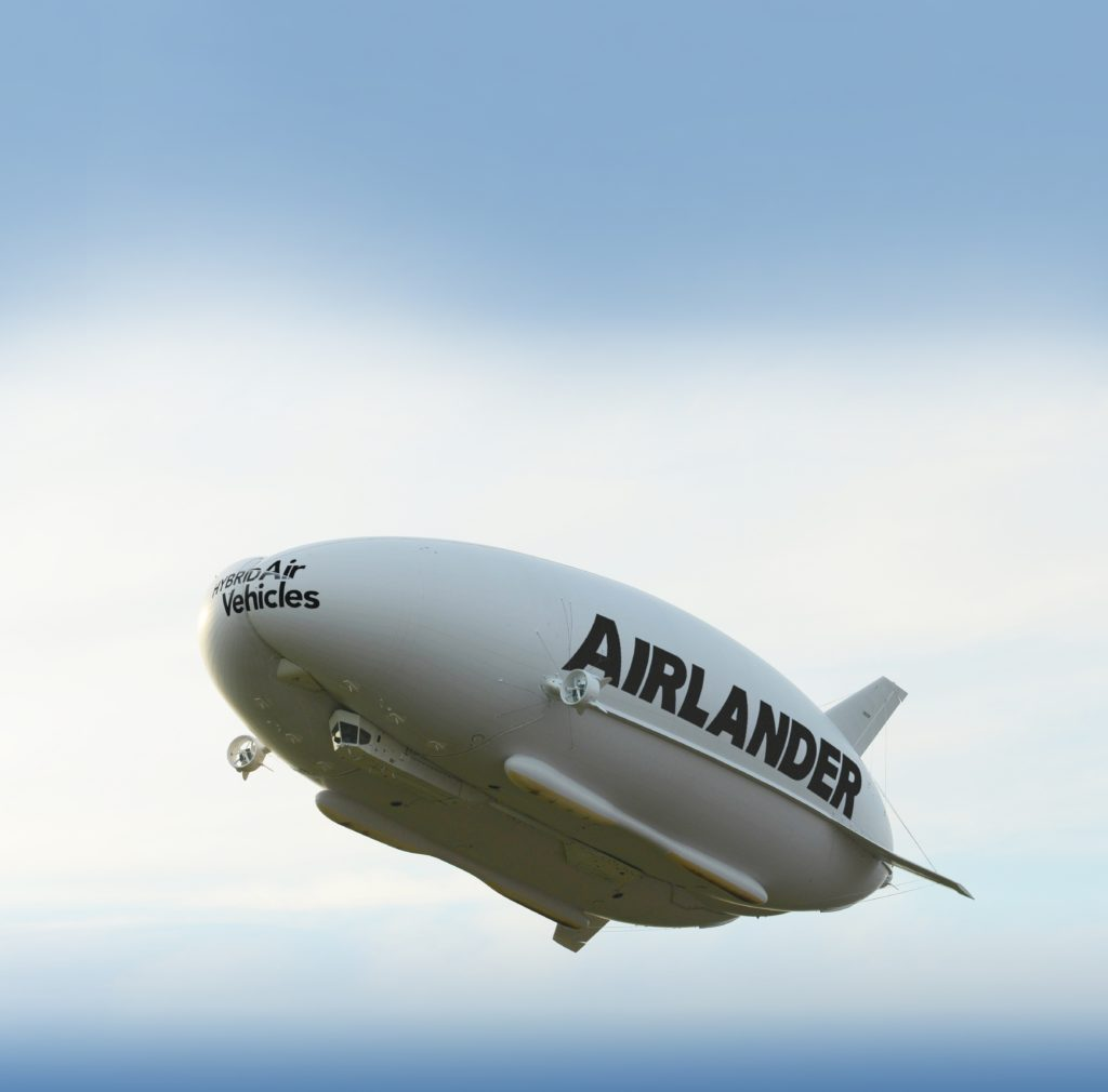 The Airlander 10 made its 15 minute first flight on 17 August, 2016