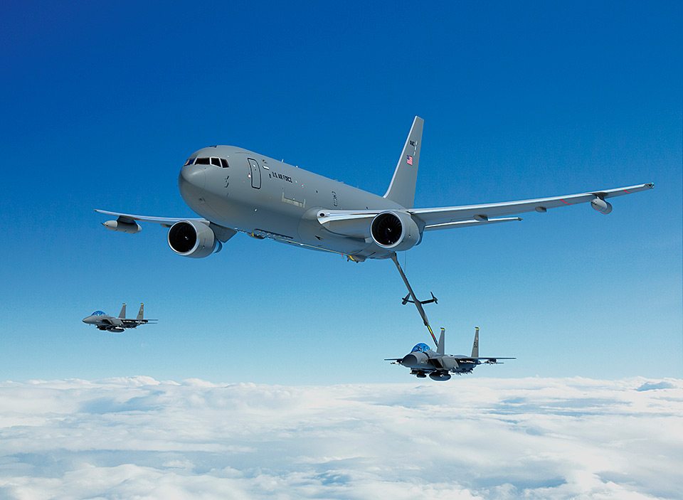 KC-46A Tanker completes aerial refueling required for Milestone C