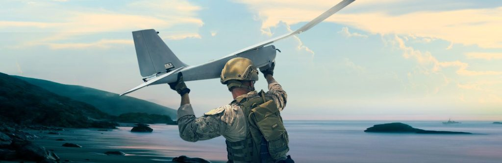 Puma AE (All Environment) is a fully waterproof, small, unmanned aircraft system designed for land and maritime operations